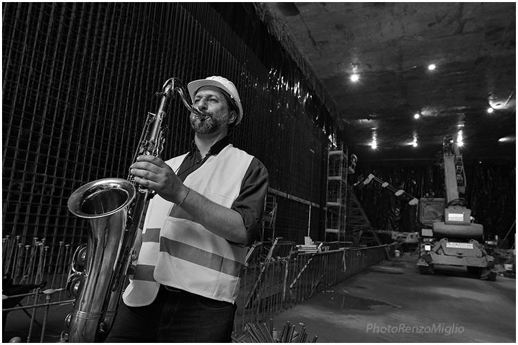 Festa della Musica 2021: concerto jazz nel cantiere della Metro