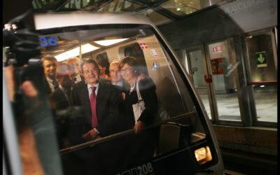 5 Ottobre 2007: inaugurazione della tratta XVII Dicembre-Porta Nuova